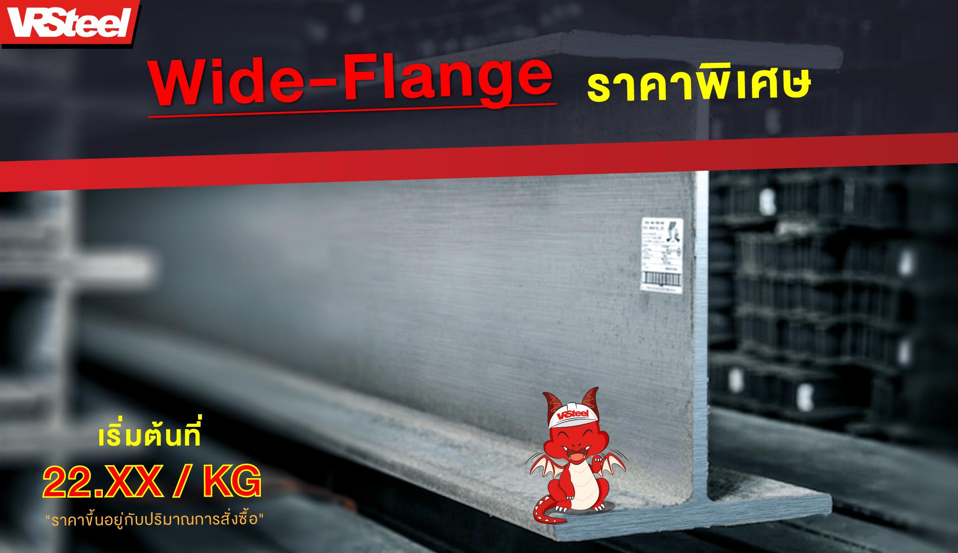 โปรโมชั่น Wide-Flange ราคาพิเศษ